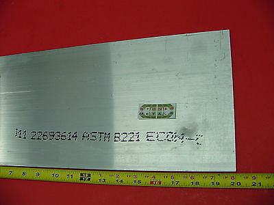 14x 8 Aluminum 6061 Ftat Bar 20 Long T6 New .25x 8 Extruded Mill Bar Stock