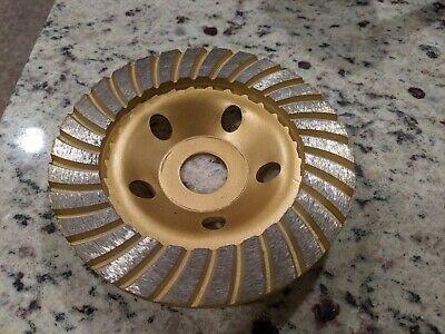 5 Diamond Cup Grinding Wheel Disc Concrete Stone Cut 78 Arbor