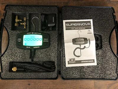 Jb Just Better Digital Vacuum Gauge Dv-41 Digital Micron Gauge Dv41 Led Case