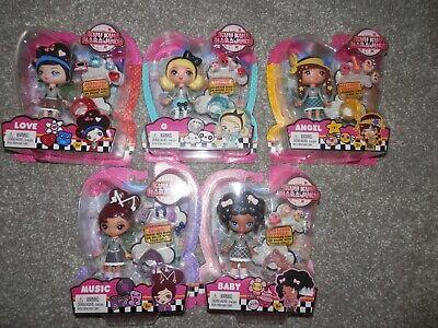 KUU KUU HARAJUKU DOLLS, GWEN STEFANIE G, LOVE, MUSIC & BABY all 5 Complete set - Harajuku Barbie