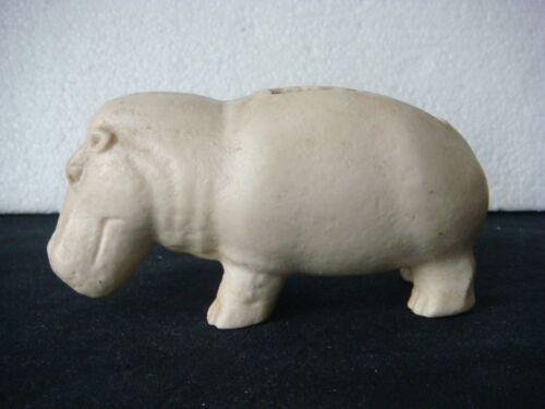 RRR RARE Vintage Carved Stone Hippo Figure Hippopotamus