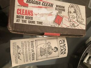 Vintage Magna Clean Window Cleaning Kit,