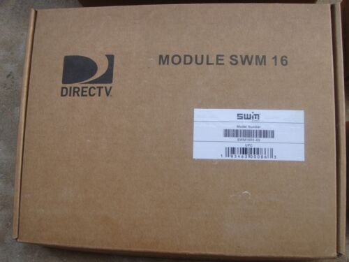 DIRECTV MULTISWITCH CHANNEL  SWM16 MODULE  SWM 16 MRV WILL NEED PI29 AND 8 WAYS
