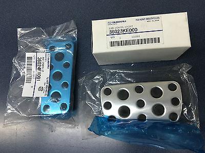 Genuine Subaru Brake & Gas Pedal Aluminum Set Impreza Forester Outback OEM (Brake Gas Pedal)