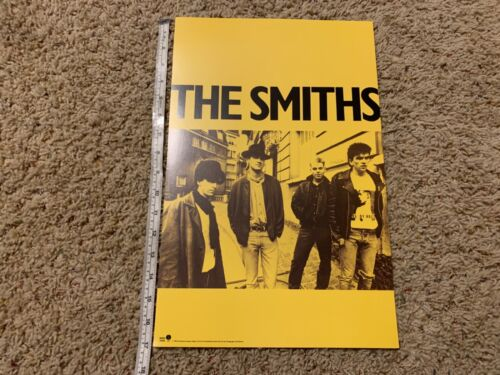 """THE SMITHS 1985 11x17"""" PROMO STORE POSTER Morrissey JOHNNY MARR"""