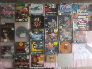 PS1 games and stuff Geelong Geelong City Preview