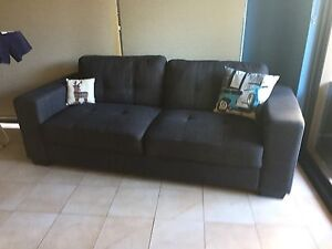 Grey 3 seater sofa Scarborough Stirling Area Preview