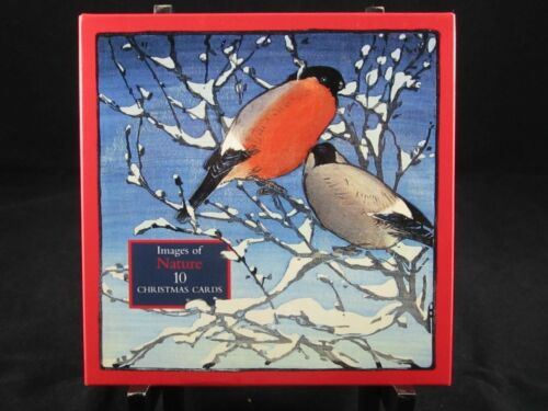Images of Nature Christmas Cards – Set of 10 – Brand New