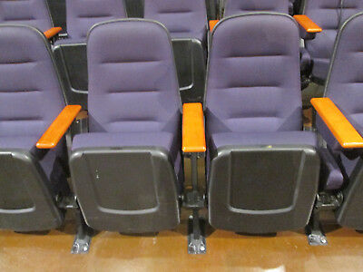 Movie Theater Auditorium Or Church Chairs. Brand New In Original Boxes.