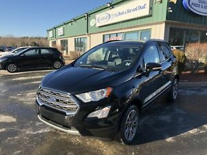 2018 Ford EcoSport Titanium CLEAN CARFAX/ONE OWNER/NAV/MY SYN...