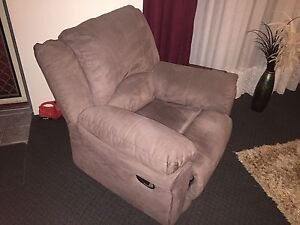 Microsuede Recliner Fremantle Fremantle Area Preview