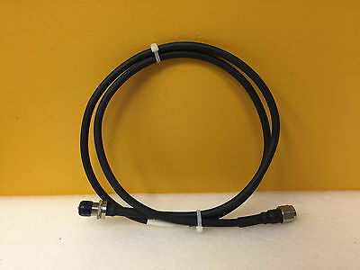 Flexco Microwave Fclo5 Dc To 18 Ghz 50 Ohm Type N M-f Rf Test Cable. New