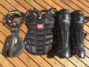 Baseball Catcher Gear
