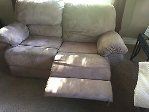 Reclining love seat and couch