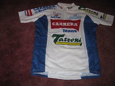 CARRERA TONELLO GAERNE 1994 NALINI ITALIAN VINTAGE CYCLING JERSEY  Size 6  3276a0795