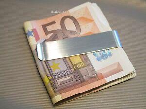 Geldklammer Edelstahl Geldscheinklammer Geldspange Money Dollarclip Geldclip #57
