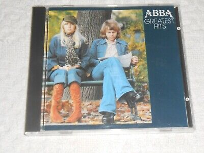 CD- ABBA , GREATEST HITS / tested  MADE  IN WEST GERMANY  19114-2