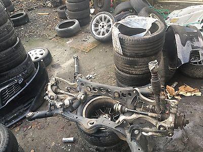 Audi Rs5 Rear Axle Axel Suspension 42 V8 Rs4 Shocker Leg Wishbone Hub Mag Ride