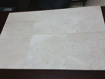 Honed Crema Marfil Marble (Crema Marfil Honed Marble Tile 12x12 - 360 Sq/Ft natural stone - Matte Finish )