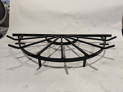 Half-Circle Wagon Wheel Grate for Semicircle Fire Pits - Made in USA ()