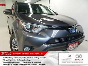 2016 Toyota RAV4 Hybrid XLE Clean Carfax | One Owner | Toyota...