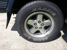 "Jeep XJ KJ Cherokee 16"" Alloy Wheels - set of 5 Dundas Parramatta Area Preview"