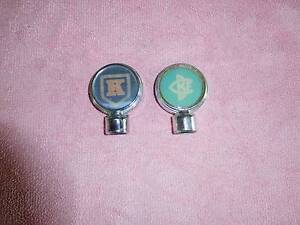 2 Rare old beer tap tops Logan Central Logan Area Preview