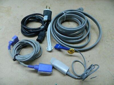 Ge Dinamap Pro 300v2 Spo2 Bp Printer Patient Monitor Nibp Tested