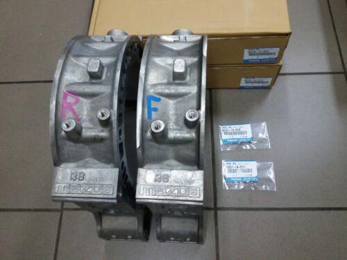 Set 2 Pcs. Rotor Housing Rotary Engine Mazda Rx7 Rx-7 Fd Fd3s Jdm Oem Stator