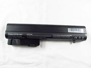 New Battery For HP Compaq NC2400 2510p EliteBook 2530p 2533t 2540p 404887-641