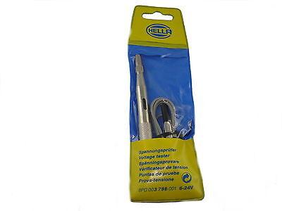 HELLA Prüflampe 6V 12V 24V Spannungsprüfer KFZ Spannungslampe 8PD 003 798-001
