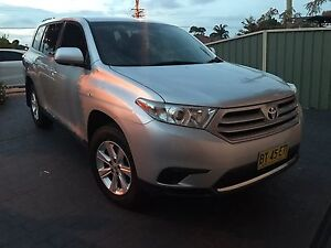 2012 TOYOTA KLUGER KX-R 7 SEATER LOW KS LONG REGO... Ramsgate Rockdale Area Preview