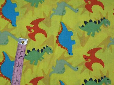 Blue Red Green Yellow Dinosaurs Cotton Classroom Window Valance - Classroom Curtains