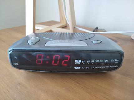 Transonic Alarm Clock Radio