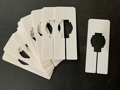 Clothing Rack Size Dividers - Set Of 10