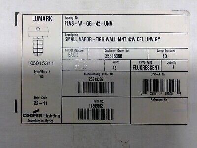 Cooper Lumark Plvs-w-gg-42-unv 42w Vapor Tight Light Fixture Free Shipping