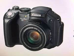 Canon power shot S3 is