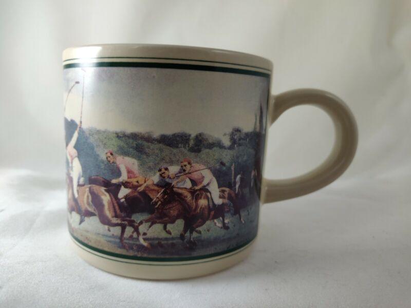 Ralph Lauren Polo Thoroughbred Mugs Box Vintage 1978 Set of 8 Horses Hunt Club
