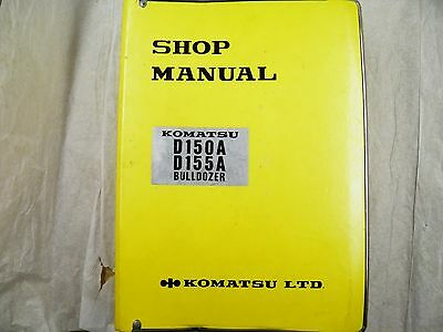 Komatsu D150a 155a Shop Manual 8408up 15001up