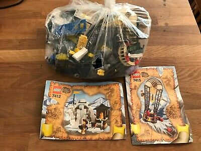 LEGO Mixed Lot ORIENT EXPEDITION 7412 & 7415 + Pamphlets