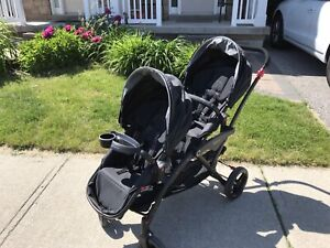 Contours Options Double Stroller with Tray