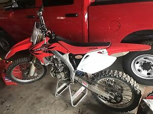 2006 honda crf 450r with extras