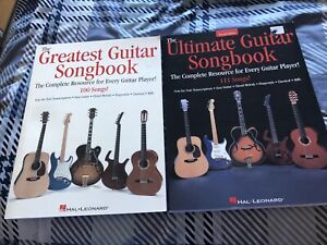 Two Guitar Songbooks