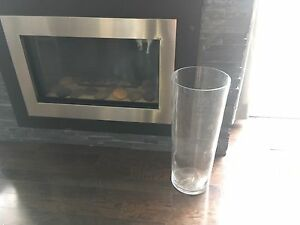Large IKEA glass vase