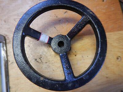 Large Cast Iron Handwheel For A Machine Jig Fixture 58 Bore