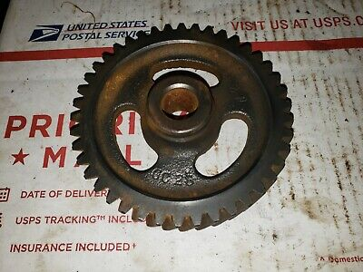 Wisconsin Vg4d Engine Gas Idler Gear Assembly Part Gc28 Ford Forage Harvester