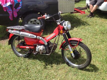 Honda Ct110 postie bikes X 2
