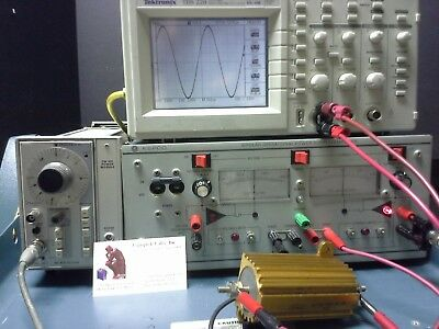 Kepco Bop50-4m Bipolar Power Supply Power Amplifier -50v 4a 15khz Bw 200 Wt