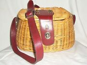 Etienne Aigner Wicker Handbags