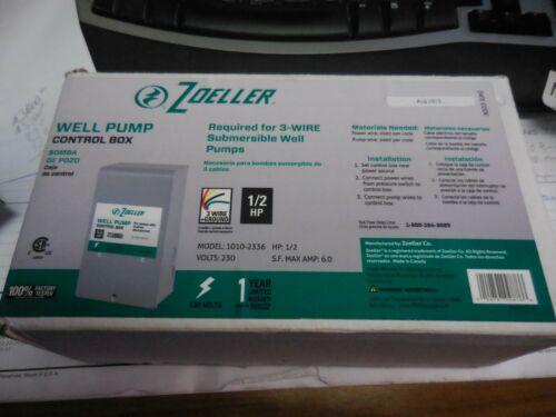 Zoeller Steel Control Box 1010-2336